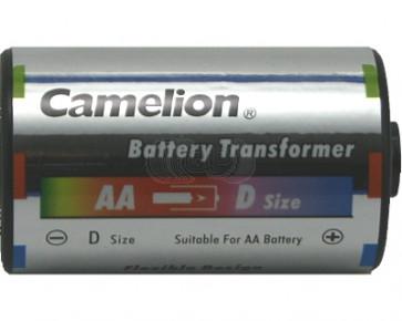 Batterij adapter AA naar mono-D Camelion 2 stuks