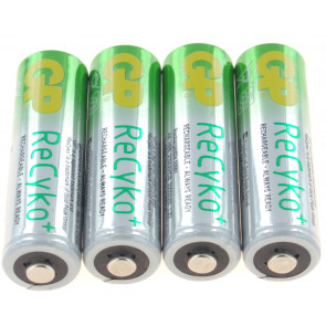 Oplaadbare batterij AA 2100 mAh NiMH GP (Recyko+) 4 stuks
