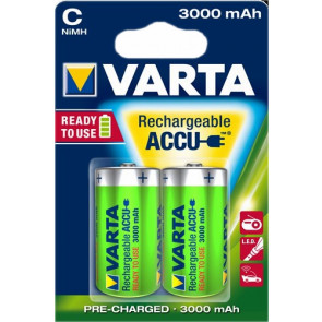 Oplaadbare batterij Baby C 3000 mAh NiMH Varta 2 stuks