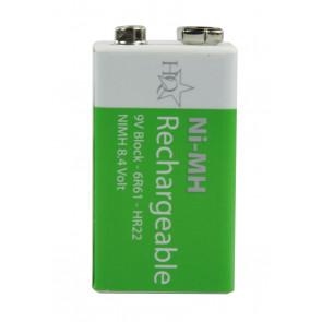 Oplaadbare batterij 9 Volt 200 mAh NiMH HQ
