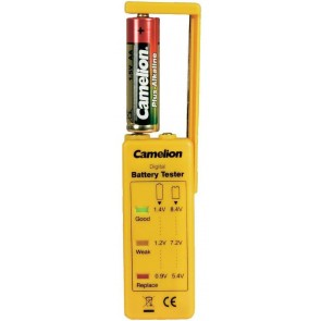 Camelion batterij tester (aa, aaa, c, d & 9 volt)
